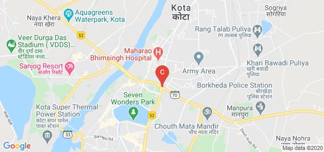 Antaghar Circle, Kota, Rajasthan, India
