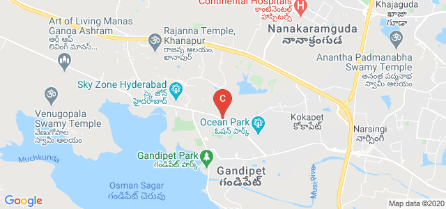 Mahatma Gandhi Institute of Technology, Gandipet Main Road, Kokapet, Hyderabad, Telangana, India