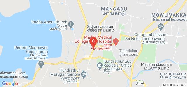 Chennai Institute of Technology, State Highway 113, Kundrathur, Chennai, Tamil Nadu, India