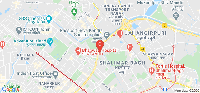 Vivekananda Institute of Professional Studies, Outer Ring Road, AU Block, Ranikhet, Pitam Pura, New Delhi, Delhi, India
