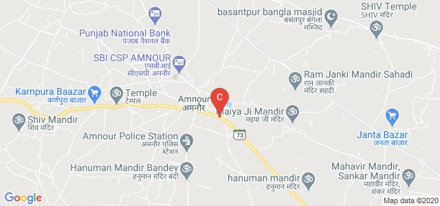 Hoti Lal Ramnath College Amnour, Dumra - Jalalpur - Madarpur - Bhagwanpur Road, Rasulpur, Amnaur Harnaraen, Bihar, India