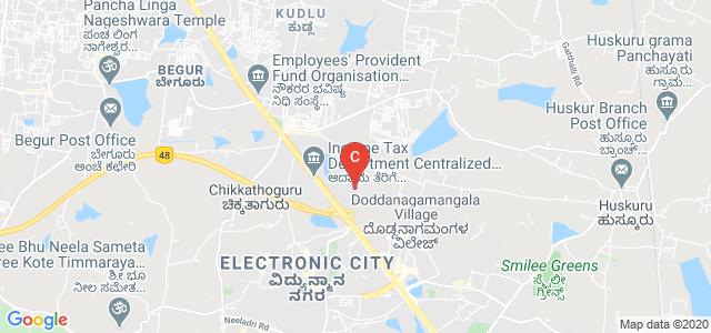 PES University Electronic City Campus, Hosur Road, Konappana Agrahara, Electronic City, Bangalore, Karnataka, India