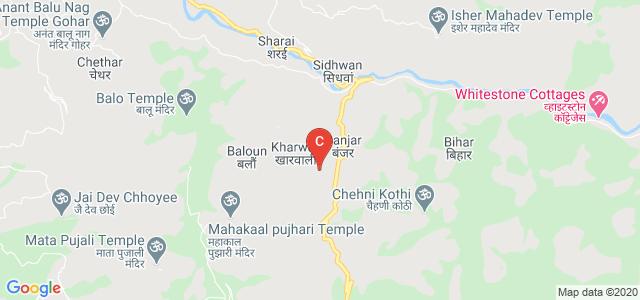 Government Degree College, College Road, Banjar, Himachal Pradesh, India