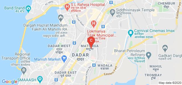 Institute of Chemical Technology (ICT), Nathalal Parekh Marg, Near Khalsa College, Matunga, Mumbai, Maharashtra, India