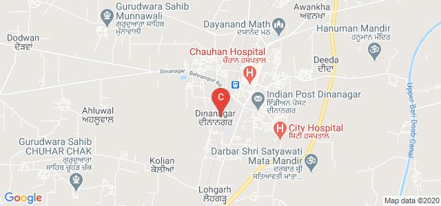SWAMI SARVANAND INSTITUTE OF ENGINEERING & TECHNOLOGY, DINANAGAR, Dinanagar, Punjab, India