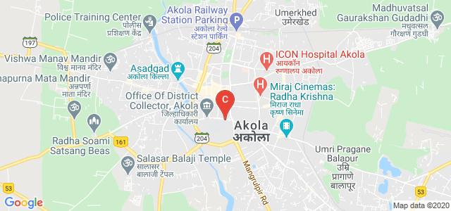 Govt Medical College, Akola, Bhandaraj BK, Akola, Maharashtra, India