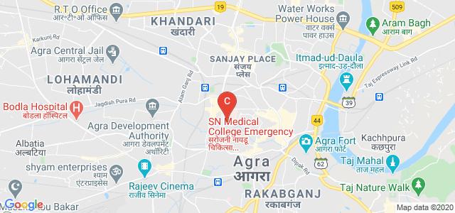 Agra College, Mahatma Gandhi Road, Raja Mandi, Mantola, Agra, Uttar Pradesh, India