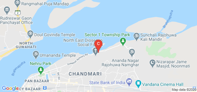 Assam Don Bosco University, Kharguli Campus, School of Management, Ramchai Hills, Ganesh Nagar, Noonmati, Guwahati, Assam, India