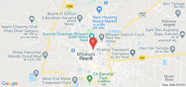 Adarsh Mahila Mahavidyalaya, Naya Bazar, Krishna Colony, Bhiwani, Bhiwani, Haryana, India