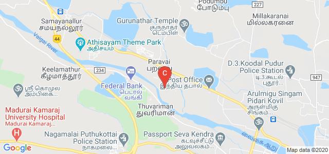 Mangayarkarasi College of Arts & Science for Women Paravai, Madurai, Tamil Nadu, India