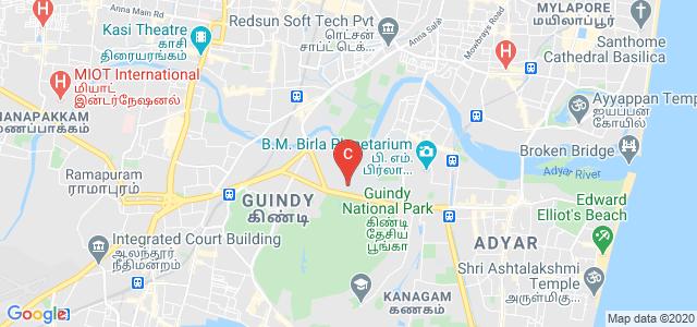 College of Engineering, Guindy, Sardar Patel Road, Anna University, Guindy, Chennai, Tamil Nadu, India