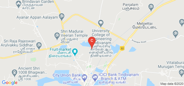 University College of Engineering Tindivanam, Tindivanam, Tamil Nadu, India