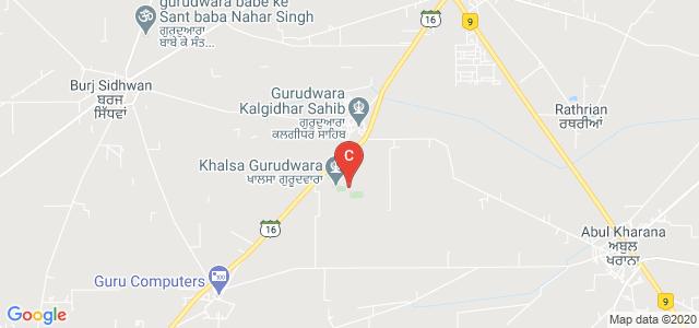 Guru Teg Bahadur Khalsa Institute Of Engineering & Technology, Malout, Punjab, India
