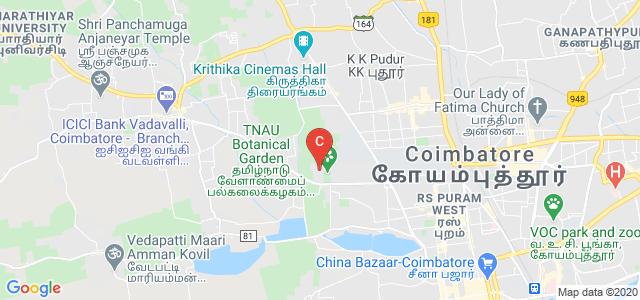 Tamil Nadu Agricultural University, PN Pudur, Coimbatore, Tamil Nadu, India