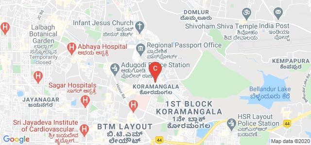 Jyoti Nivas College Autonomous, Jyoti Nivas College Road, 5th Block, Koramangala, Bangalore, Karnataka, India