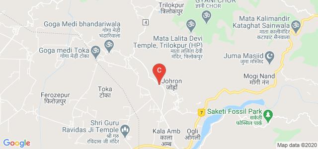 Major District Road 4, Kala Amb, Himachal Pradesh 173030, India
