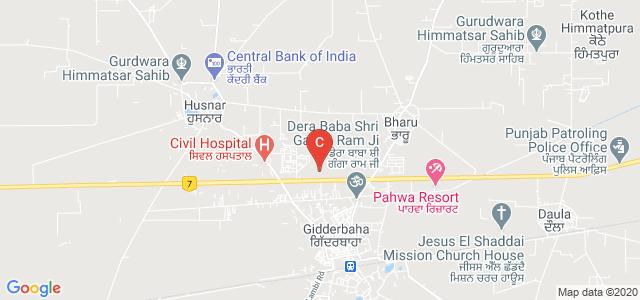 Guru Gobind Singh College Of Management and Technology,Giddarbaha, NH 15, Gidderbaha, Punjab, India
