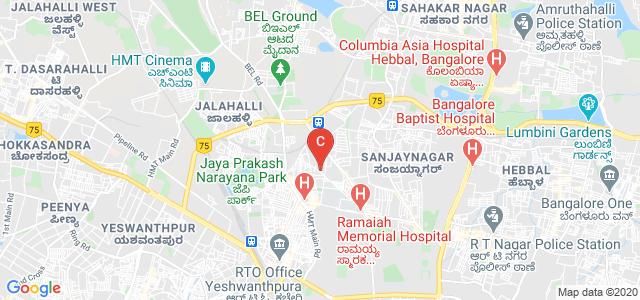 Ramaiah Institute of Business Studies, MSR Nagar Road Extension, Gokula Extension, Mathikere Extension, Mathikere, Bangalore, Karnataka, India
