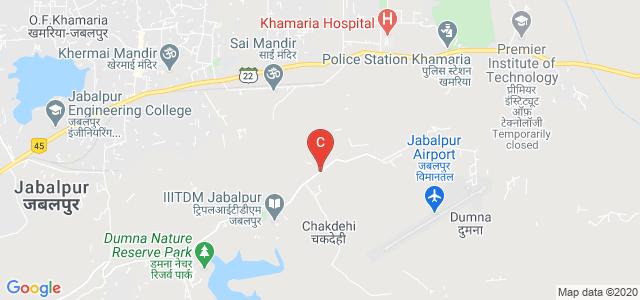 Indian Institute of Information Technology Design & Manufacturing Jabalpur, Khamaria, Jabalpur, Madhya Pradesh, India