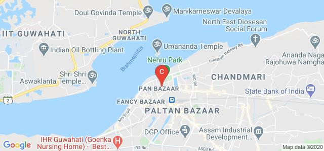 Ananda Ram Baruah Rd, Pan Bazar, Guwahati, Assam, India