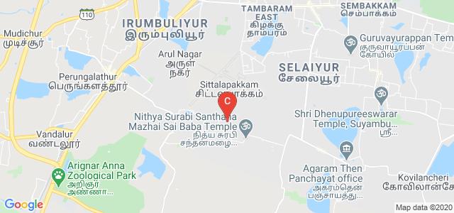 GKM Institute of Marine Sciences & Technology, GKM Nagar, Tambaram, Chennai, Tamil Nadu, India