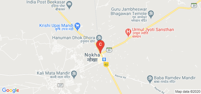 NH89, Nokha, Rajasthan 334803, India