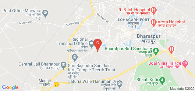 Swami Vivekanand P.G College, Unnamed Road, Jaswant Nagar, Bharatpur, Rajasthan, India