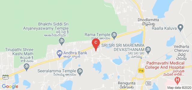 SV Engineering College, Karakambadi Road, opp. LIC Training Centre, Mangalam, Tirupati, Andhra Pradesh, India