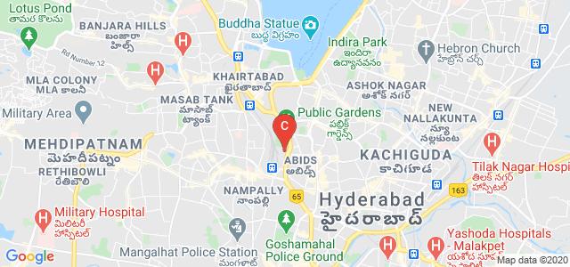 Potti Sreeramulu Telugu University, Red Hills, Lakdikapul, Hyderabad, Telangana, India