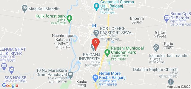 Raiganj University, University Rd, College Para, Raiganj, West Bengal, India