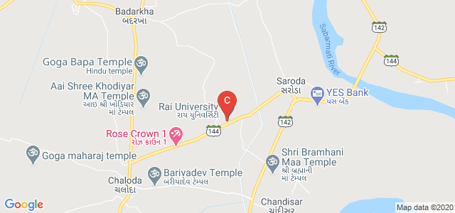 Rai University, Saroda, Ahmedabad, Gujarat, India