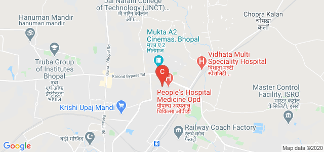 People's University, Ayodhya Bypass Road, Peoples Campus, Bhanpur, Bhopal, Madhya Pradesh, India