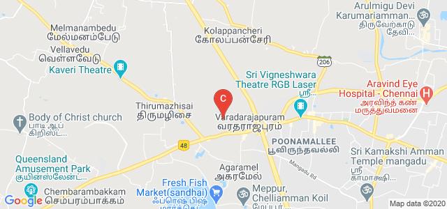 Panimalar Engineering College, Chennai, Tamil Nadu, India