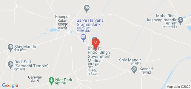BPS GOVERNMENT MEDICAL COLLEGE FOR WOMEN KHANPUR KALAN, SONIPAT, Sonipat, Haryana, India
