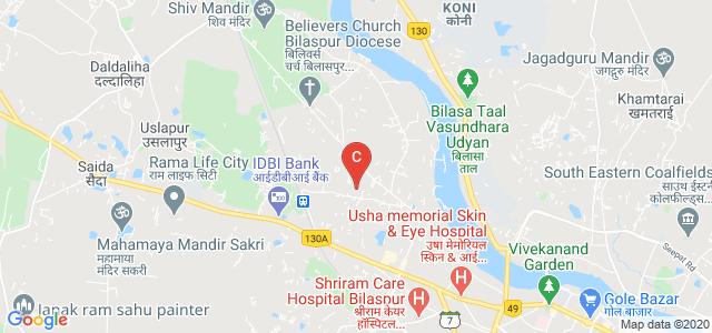 Maharishi University of Management and Technology, Abhishek Vihar-2, Abhishek Vihar, Gauri Ganesh Colony, Mangla, Bilaspur, Chhattisgarh, India