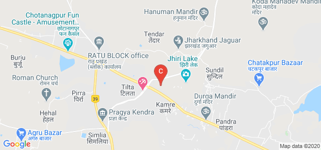 Jharkhand Rai University, Ratu Raod, Chanakyapuri Colony, Kamre, Ranchi, Jharkhand, India
