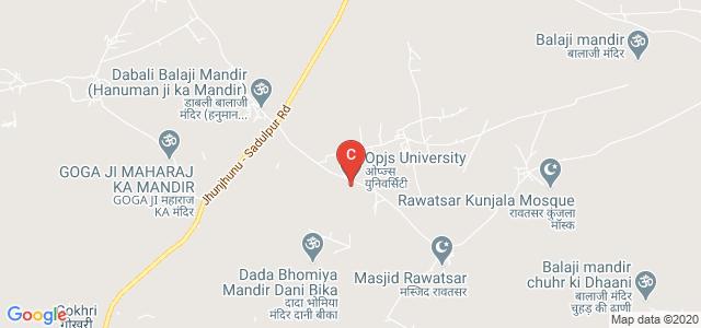 Opjs University, Sadulpur, Rajasthan, India
