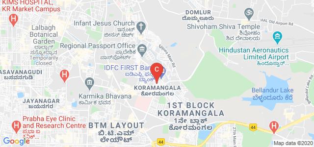 Koramangala Club Road, Koramangala 6th Block, Koramangala, Bengaluru, Karnataka 560095, India