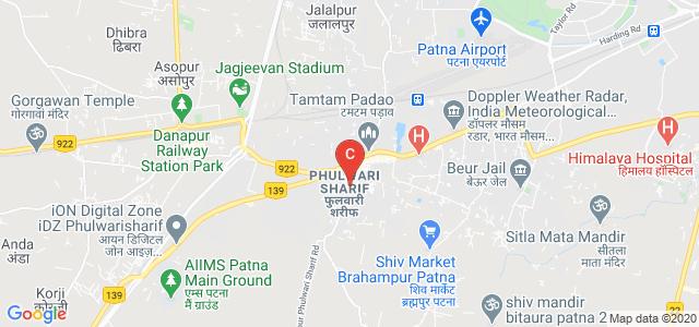 All India Institute of Medical Sciences, Patna - Aurangabad Road, Phulwari Sharif, Patna, Bihar, India