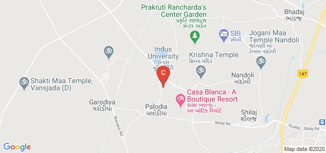 Indus University, Ahmedabad, Gujarat, India