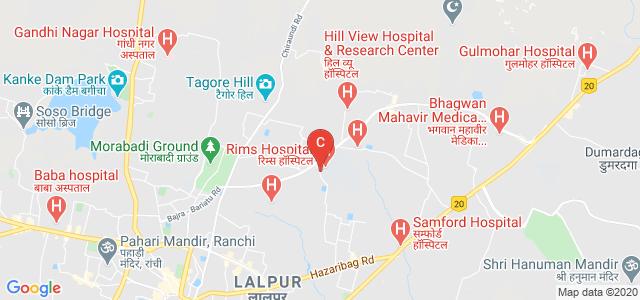 RAJENDRA INSTITUTE OF MEDICAL SCIENCES, Rims Circle, Indraprasth Colony, Bariatu, Ranchi, Jharkhand, India