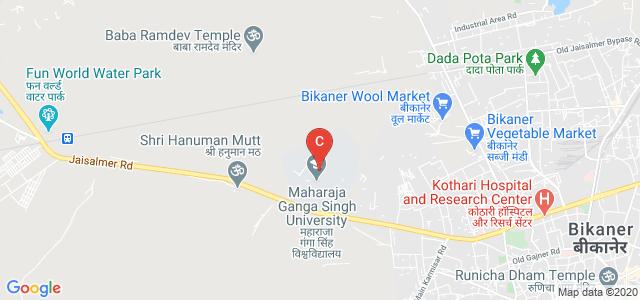 Maharaja Ganga Singh University, Bikaner, Rajasthan, India