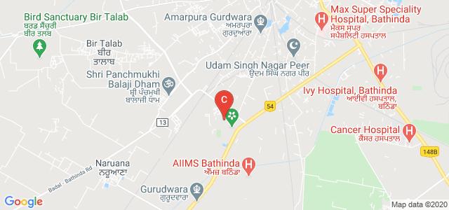 Maharaja Ranjit Singh Punjab Technical University, Dabwali Rd, Lal Singh Nagar, Bathinda, Punjab, India