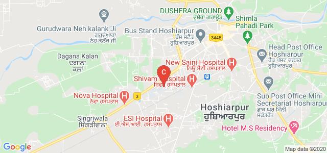 I.K.Gujral Punjab Technical University Campus Hoshiarpur, Jalandhar Rd, Opposite Petrol Pump, Roop Nagar, Hoshiarpur, Punjab, India
