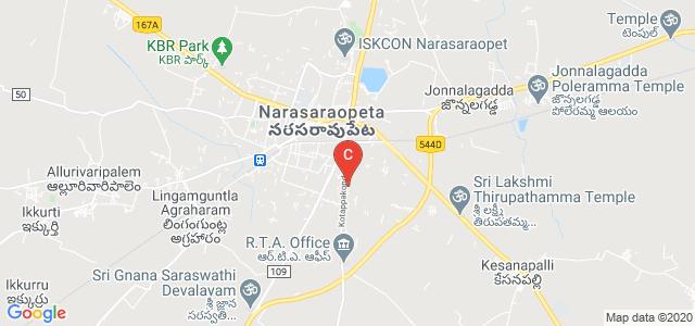 narasaraopeta engineering college, Srinivasa Nagar, Narasaraopet, Andhra Pradesh, India