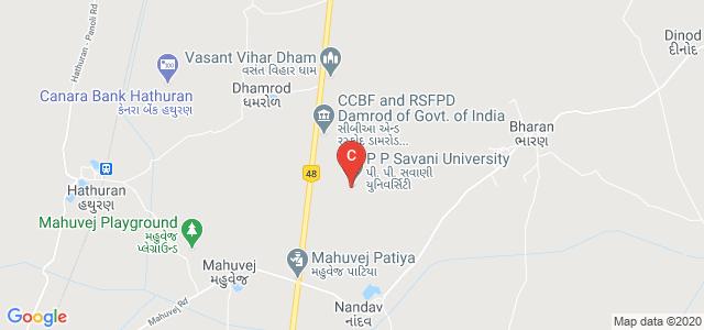 P P Savani University, Dhamdod, Gujarat, India