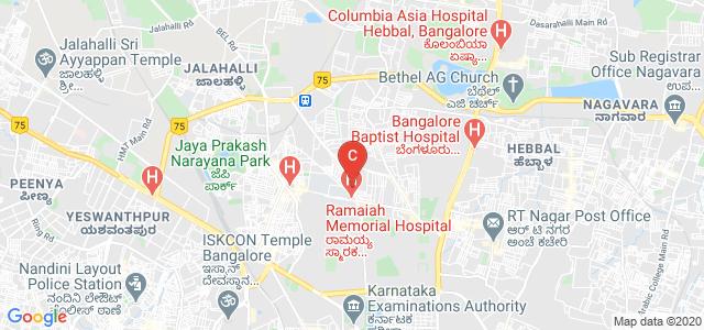Ramaiah Institute of Management Studies/Sciences, New BEL Road, M S R Nagar, Mathikere, Bangalore, Karnataka, India