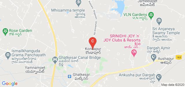 Keesara - Bogaram - Ghatkesar Rd, Sugumanchipalli, Kondapur, Telangana 501301, India