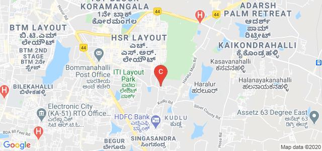 SVR College of Commerce and Management Studies, HSR layout Sector 2, Somasundarapalya, Bangalore, Karnataka, India