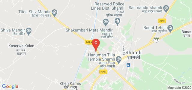 Rashtriya Kisan Post Graduate College, Shamli, State Highway 82, Gagan Vihar, Shamli, Uttar Pradesh, India